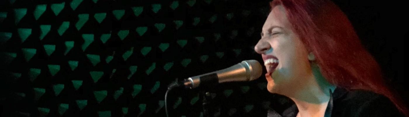 Kaci Machacyk singing